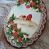 Country Scene and Strawberries