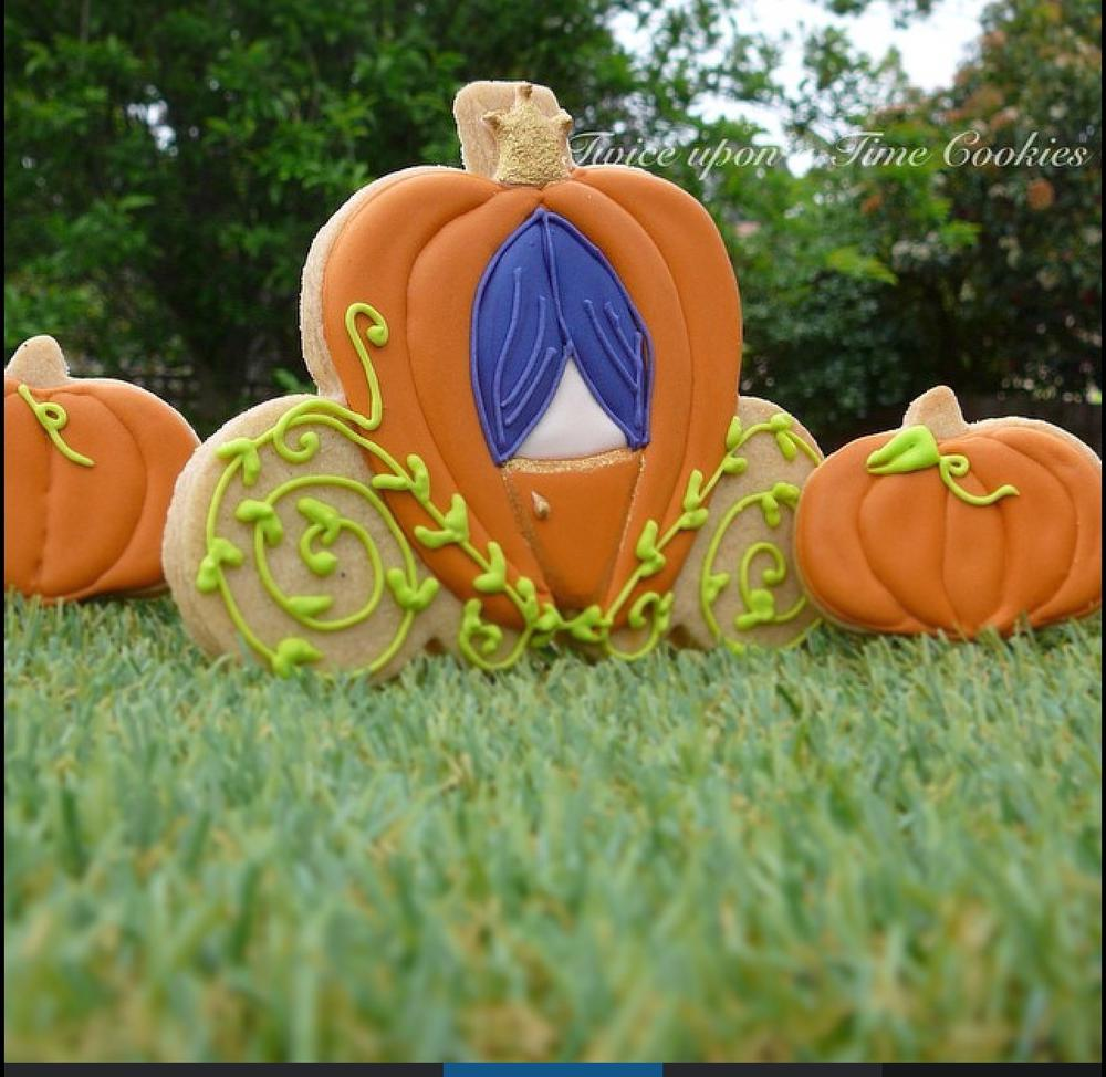 ' You Shall go to the Ball ' Pumpkin Carriage