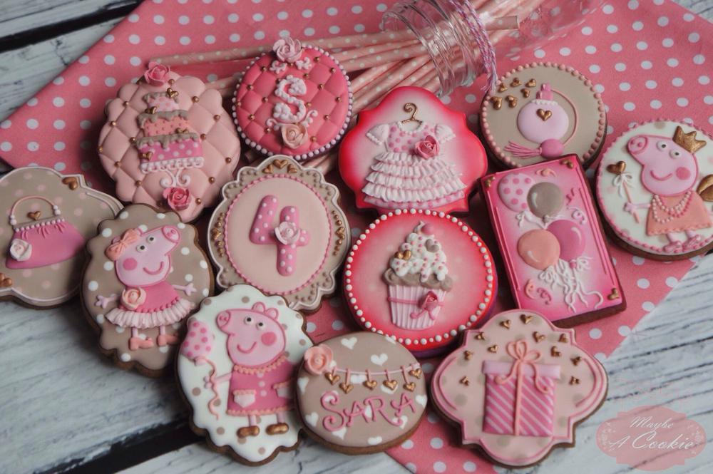 Birthday Girl Cookie Set