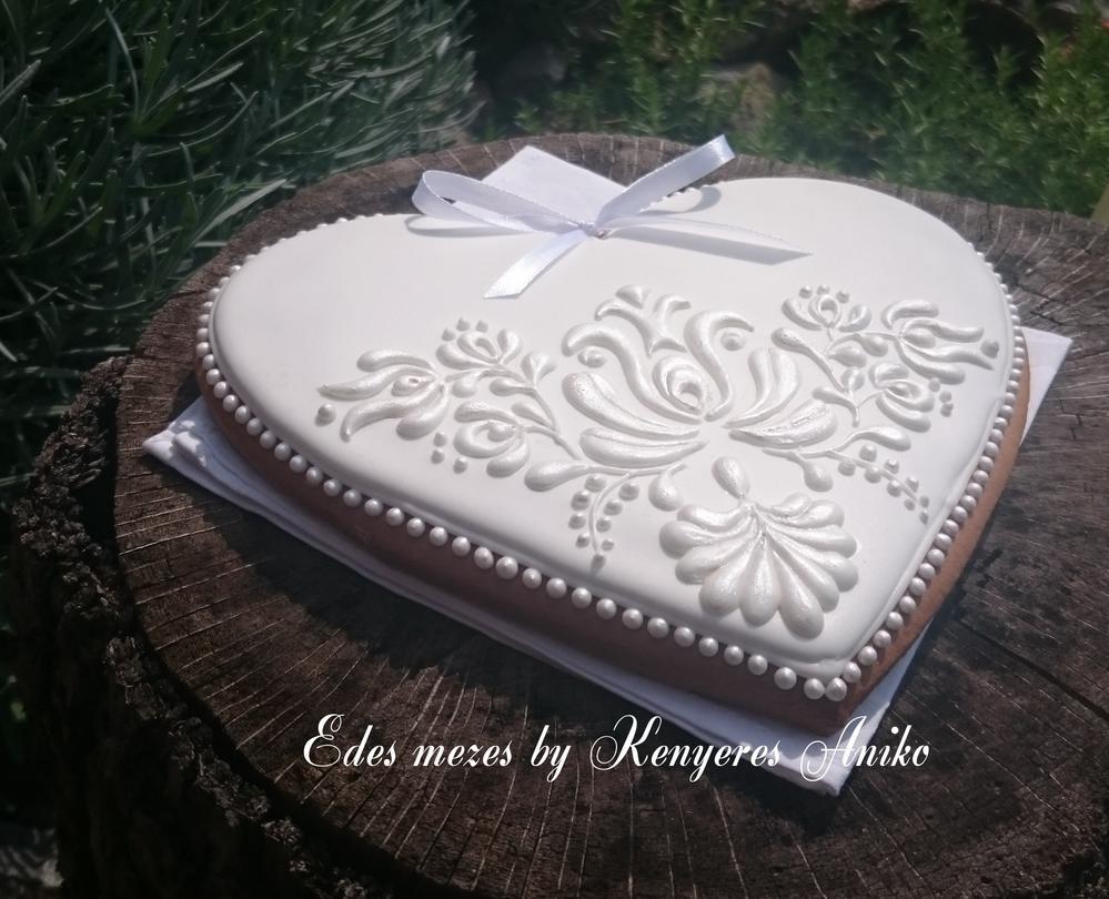 White Wedding gingerbread
