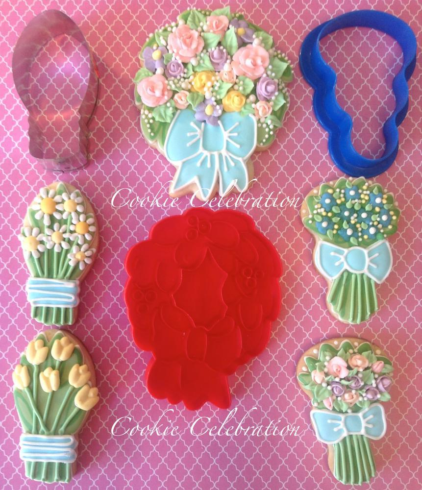 Flower Bouquets- Cookie Celebration   Cookie Connection