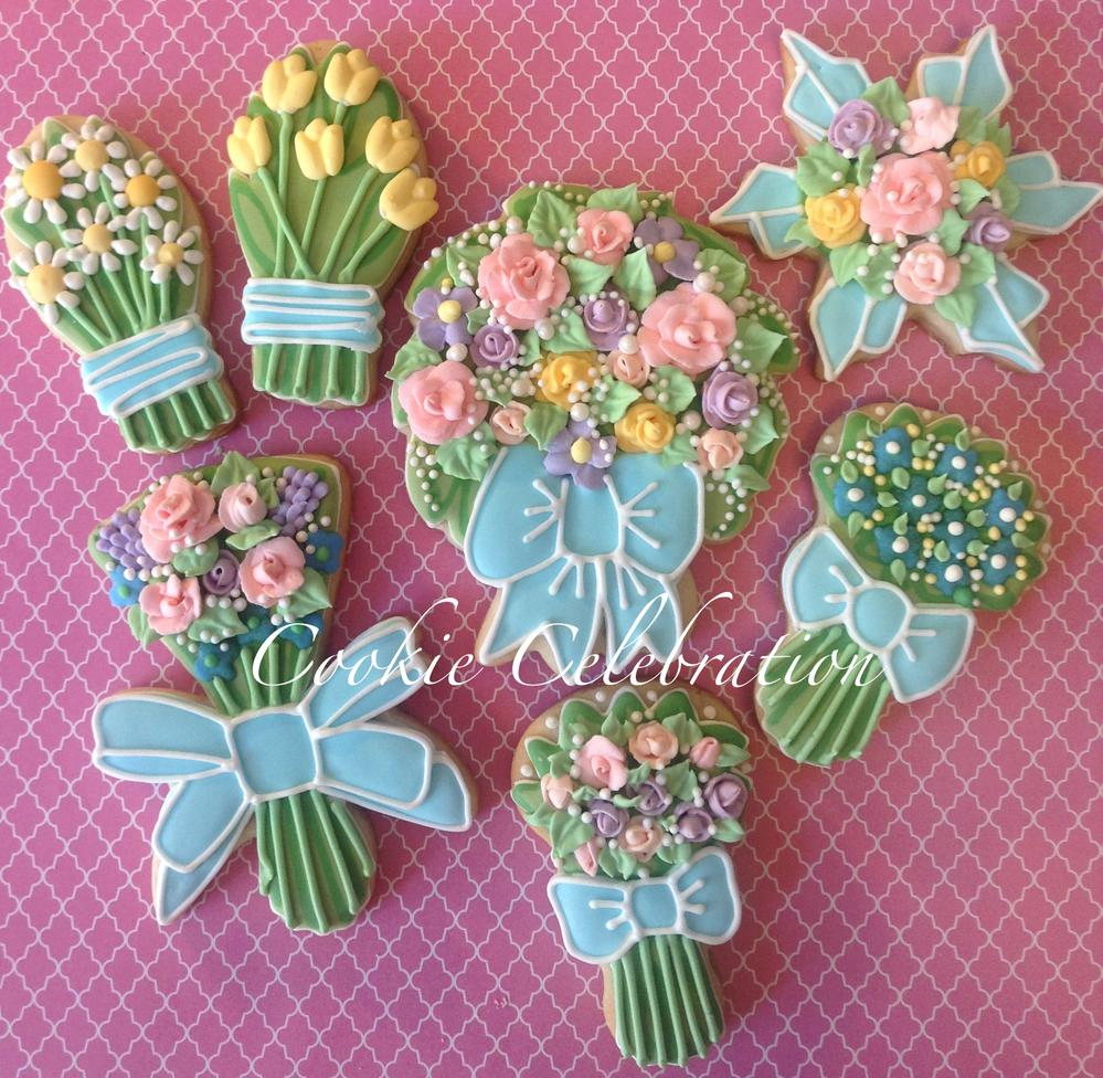 Flower Bouquets- Cookie Celebration | Cookie Connection