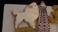 Ooh Lala Baby Shower Cookies