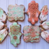 Boho Dreamcatcher Cookies
