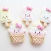 Kawaii Ice Cream Cookies - #BakeToDefeatALS