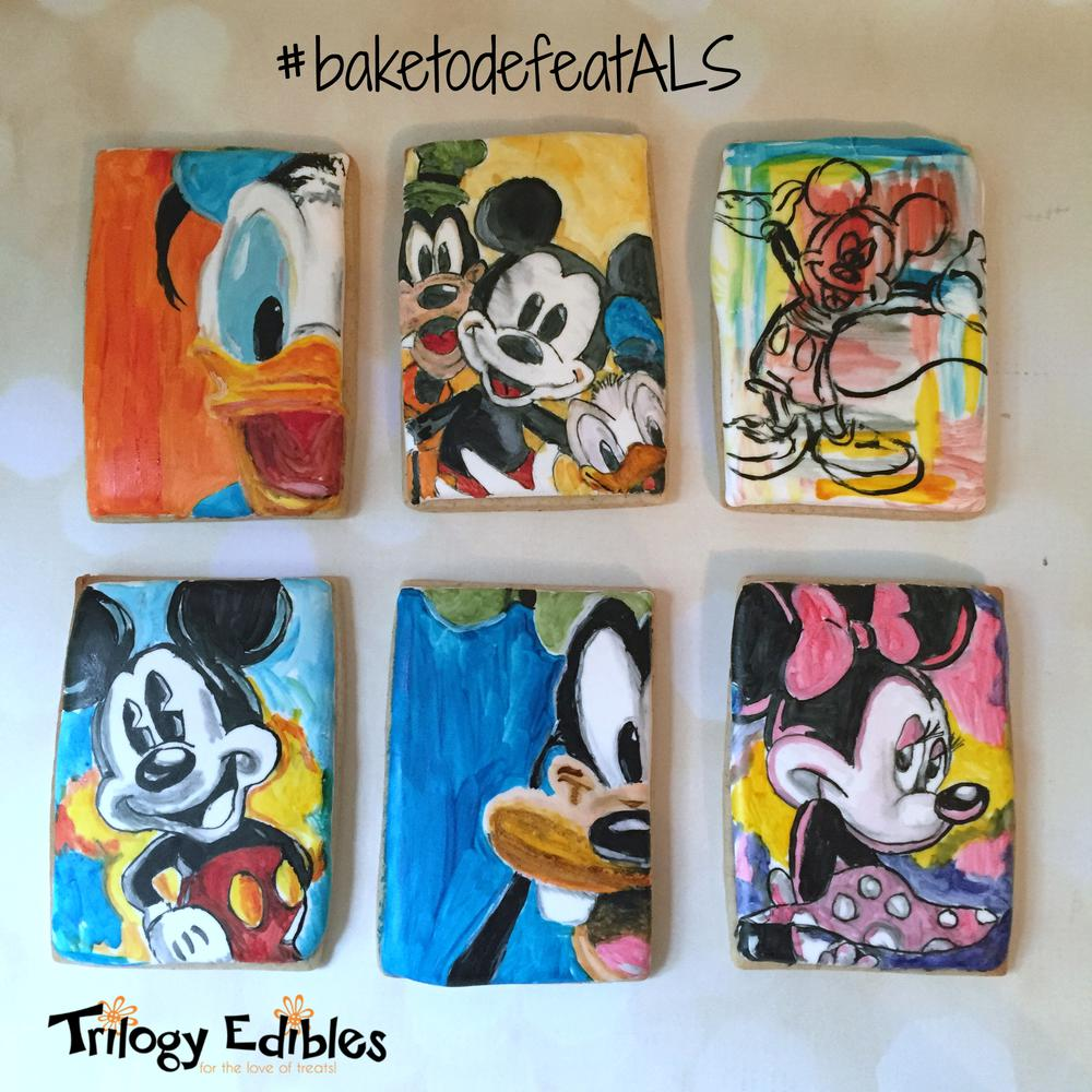 Mickey Mouse Cookie Set