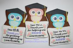 Owls cookies