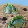 3-D Lizard (or Dragon?!) Cookies/Julia M Usher