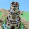 3-D Castle Cookie