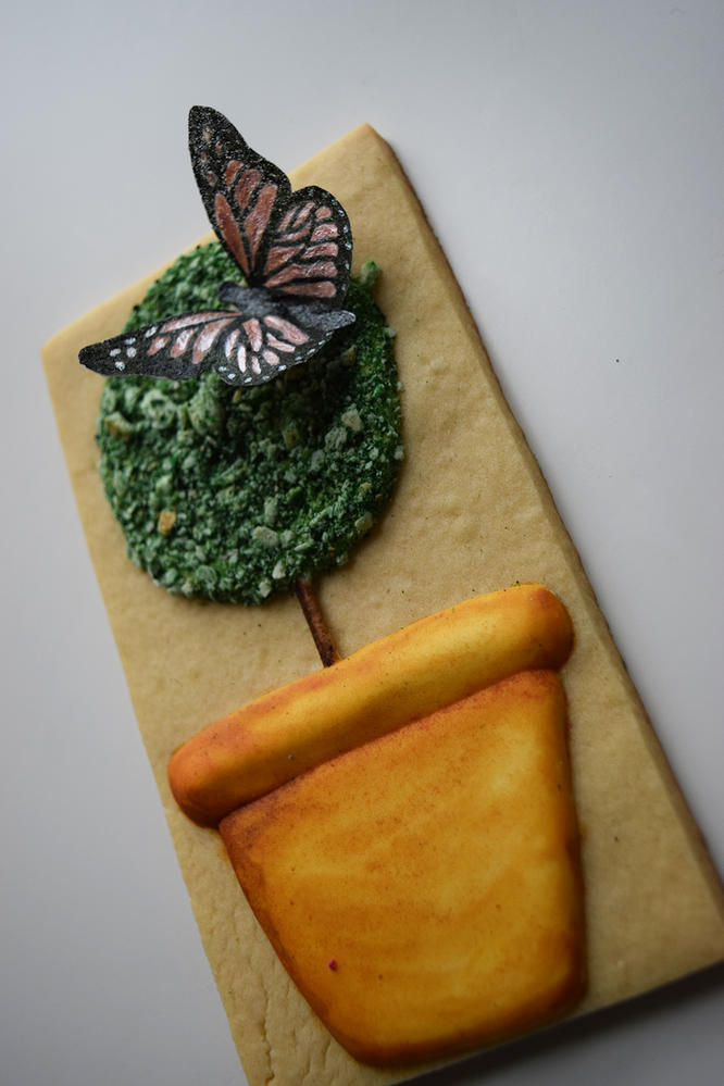 Topiary with Butterfly