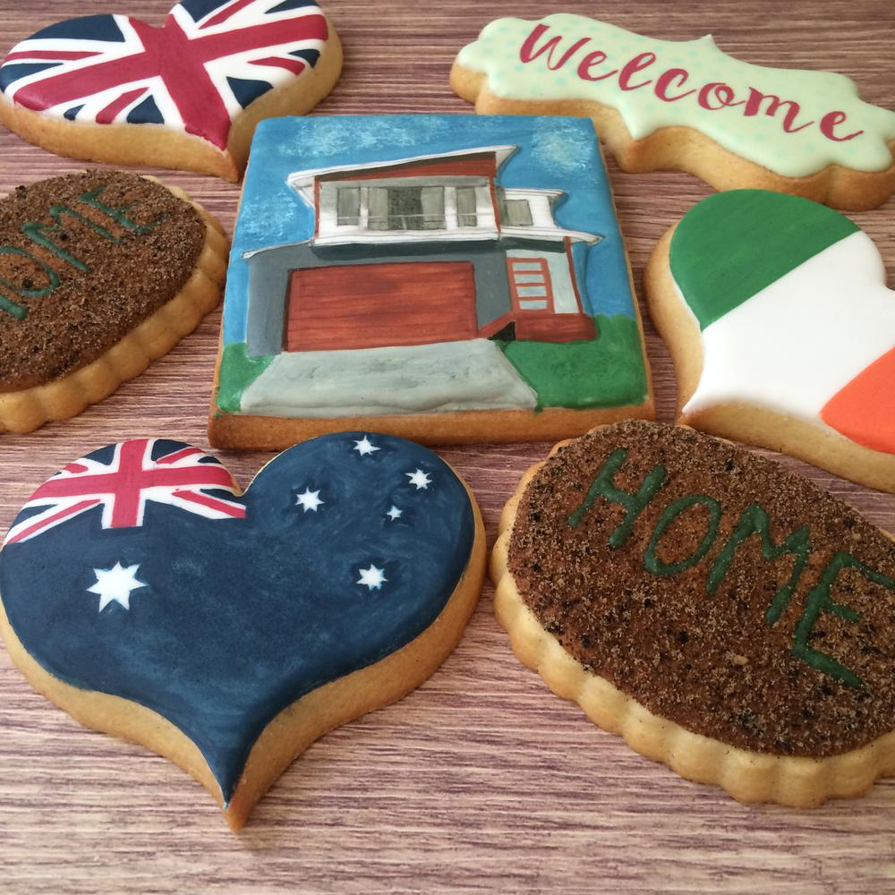 """Welcome to the neighbourhood"" cookie set"