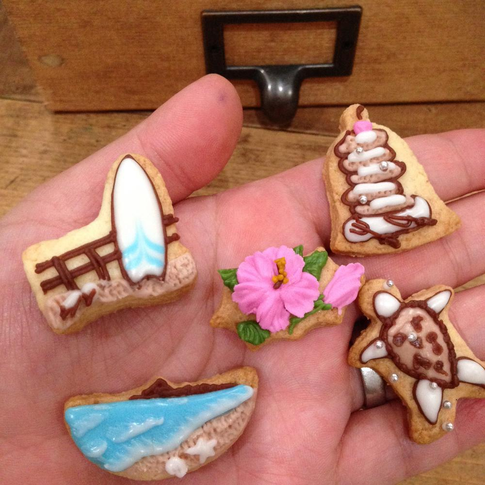 Small Summer Cookies
