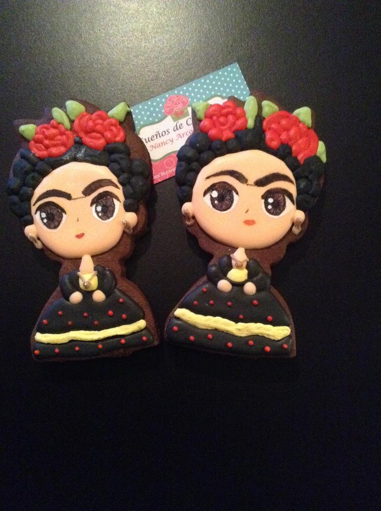 Calendar Spot June : Frida kahlo cookie connection