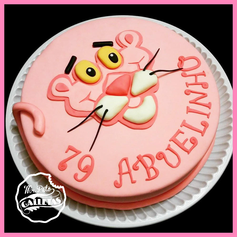 Pink Panther Cake Cookie Connection