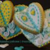 Galleta de corazón de Mariposa