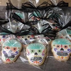 Sugar Skull Cookies for a Casamigo Party