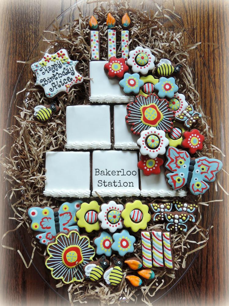 Build Your Own Birthday Cake Cookie
