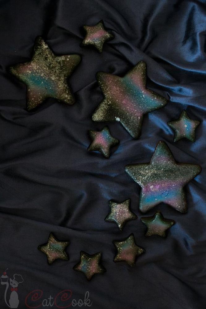 gingerbread cookies Night sky