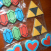 Zelda Sugar Cookies by Sweethart Baking Experiment