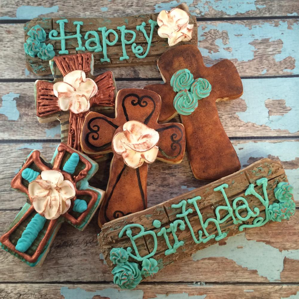 Rustic Happy Birthday Combo