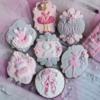 Ballerina Birthday Cookie Set