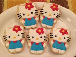 Hello Kitty Cookies 2015