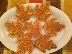 Fall/Autumn cookies 2015