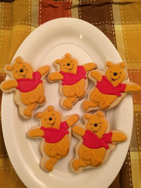 Pooh Bear Cookies 2015