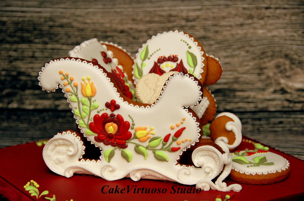 Christmas Sleigh Cookie Connection