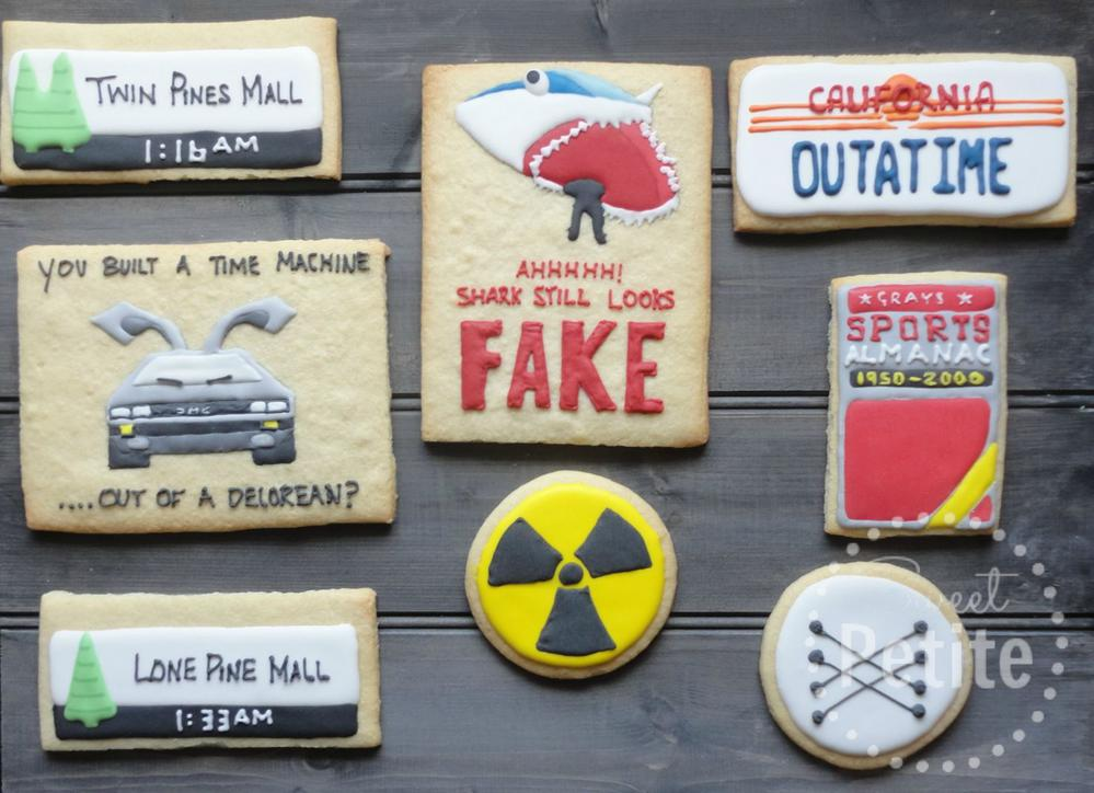 Back to the Future Cookies