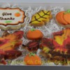 Thanksgiving Cookies Set by Cheerful Momma's Custom Art Cookies