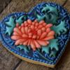 Chrysanthemum Cookie