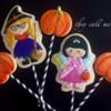 Portrait Cookies for Halloween