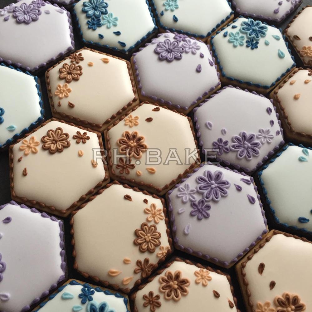 Flower hexagons
