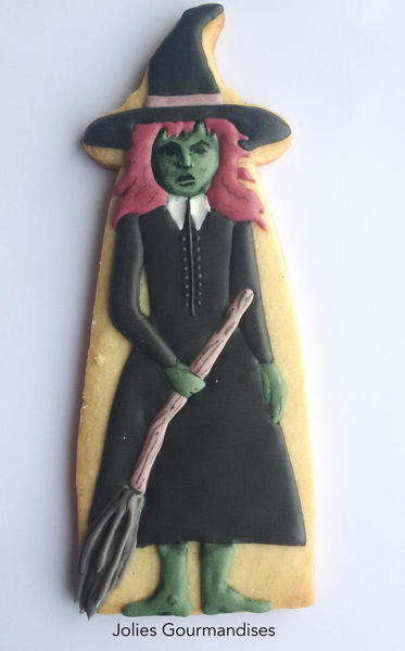 Green-Faced Witch