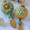 Christmas Ornaments: Cookies and Photo by Julia M Usher