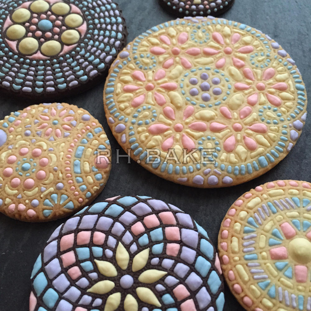 Cookies used SugarVeil Silicone Mats