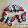 Halloween Butterfly Cookies