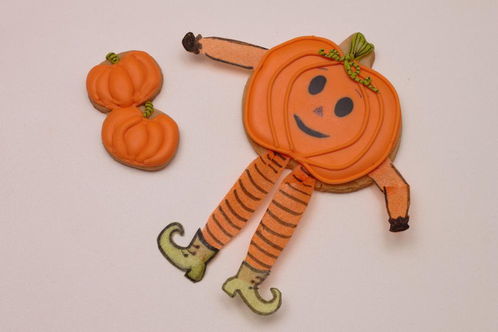 Pumpkin boy Halloween