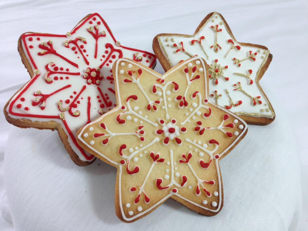 Christmas Star Cookie Connection