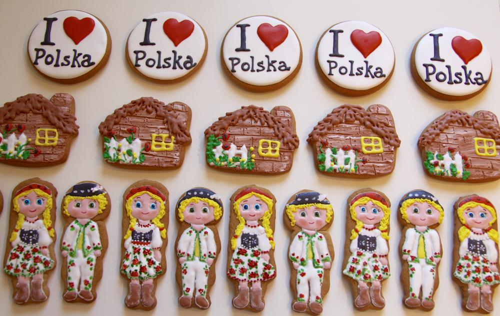Cookies for polish party