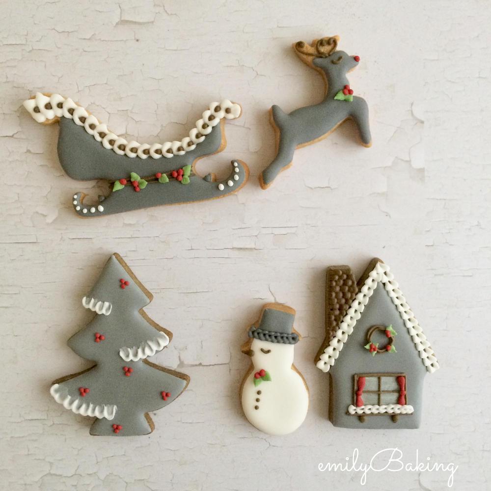 Flying reindeer , on the night of Christmas Eve ...