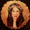3D icing woman