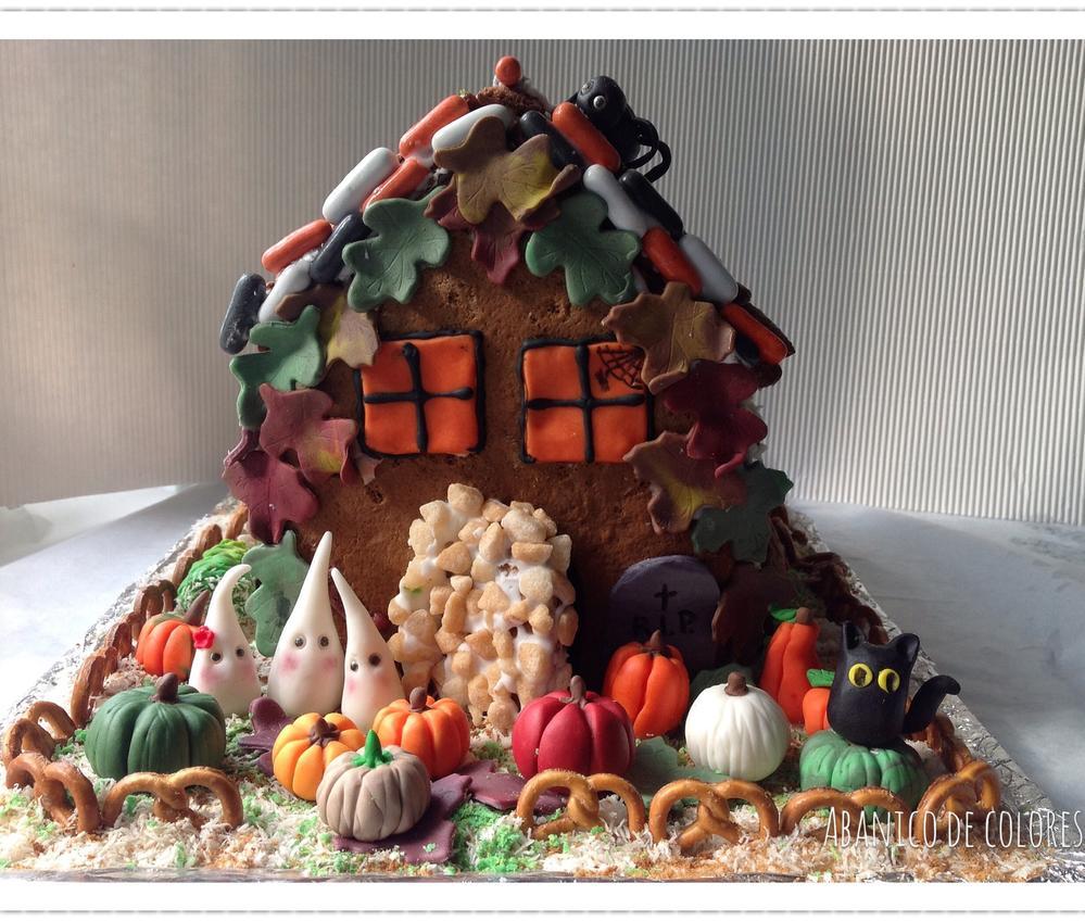 3-D Halloween House
