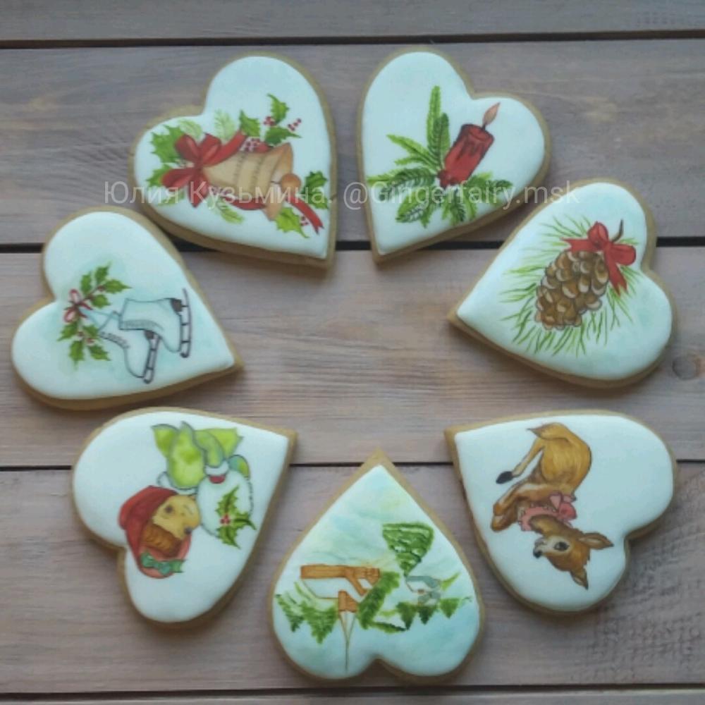 Hand Painted Christmas Sugar Cookies