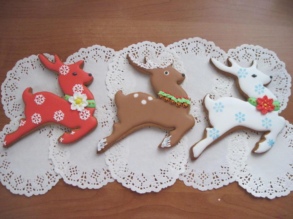 Winter Reindeers