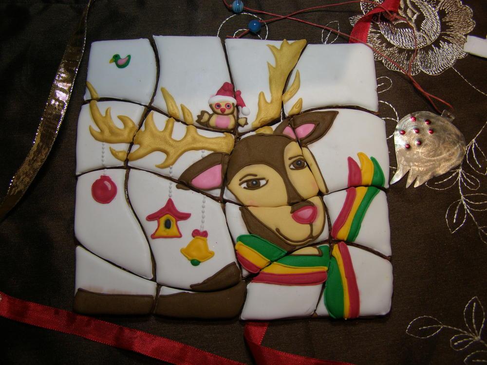 Coolmathgames Com Christmas Ornaments: Rudolph Christmas Puzzle