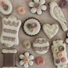 Vintage Lace and Button Samplers