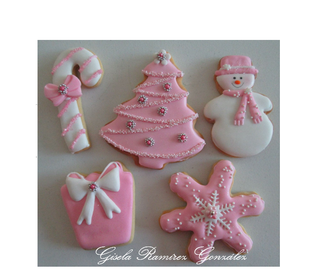 Baby Pink Christmas Cookie Connection