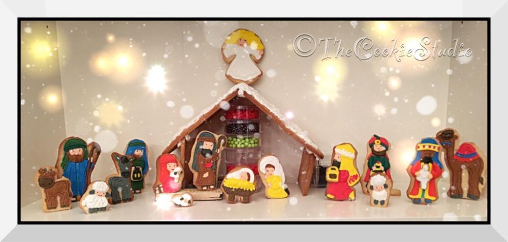 Christmas nativity stable